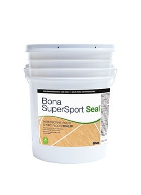 bona supersport seal waterborne gym finish